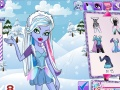 Spel Monster High Winter Dress Up Abby  online - speletjies aanlyn